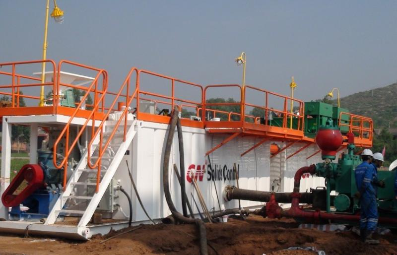 CBM drilling mud system